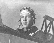 Forrest M. Mims Jr. during WW II flight training